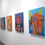 The Antagonistas art show ran from November 5-28 at {neighborhood} gallery