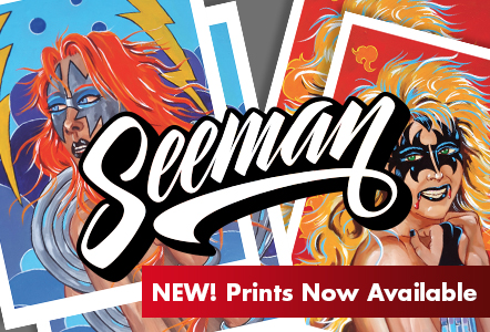 Seeman prints now available to ship