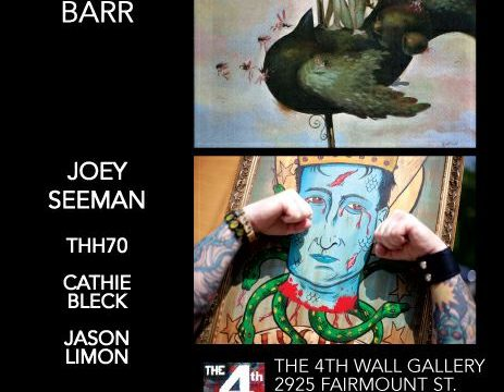 4th Wall Gallery with Glenn Barr, Laurie Lipton, THH70 and Jason Limon